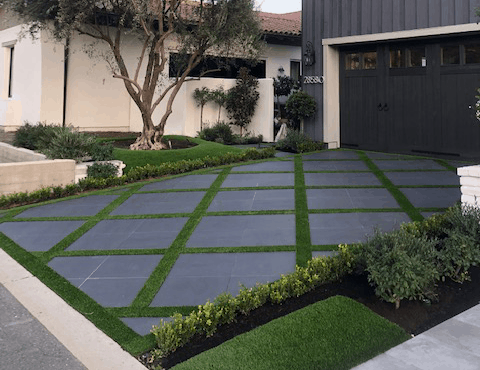 4 Ways to Elevate Your Backyard with Artificial Grass - OC ... on Backyard Ideas Concrete And Grass id=39027